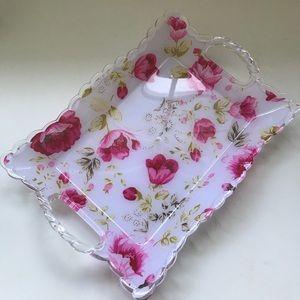 Rose Vanity small tray